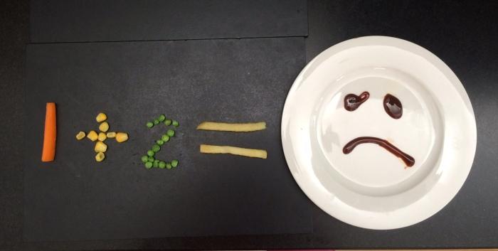 Maths equation = no dinner